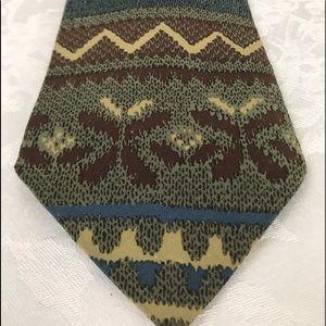 Giorgio Armani Cravatte Vntg 80's Silk Tie